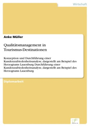 Qualitätsmanagement in Tourismus-Destinationen