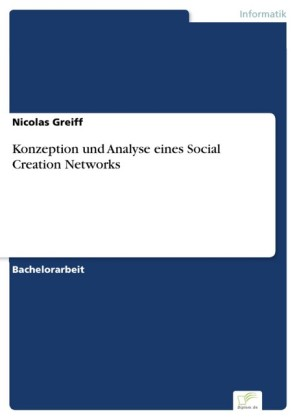 Konzeption und Analyse eines Social Creation Networks