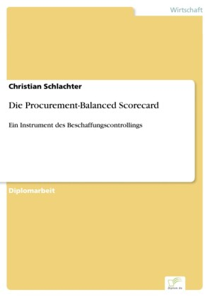Die Procurement-Balanced Scorecard