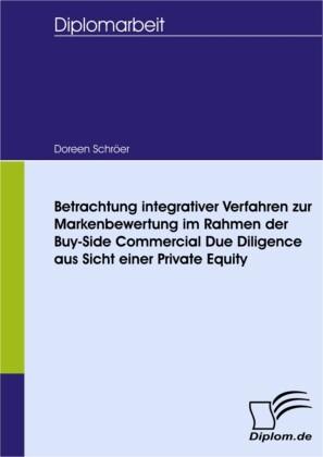 Betrachtung integrativer Verfahren zur Markenbewertung im Rahmen der Buy-Side Commercial Due Diligence aus Sicht einer Private Equity