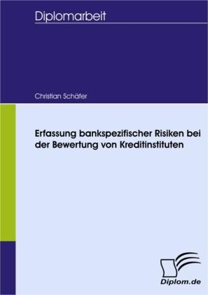 Erfassung bankspezifischer Risiken bei der Bewertung von Kreditinstituten