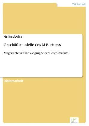 Geschäftsmodelle des M-Business