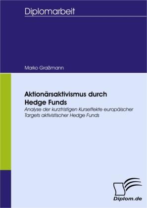 Aktionärsaktivismus durch Hedge Funds