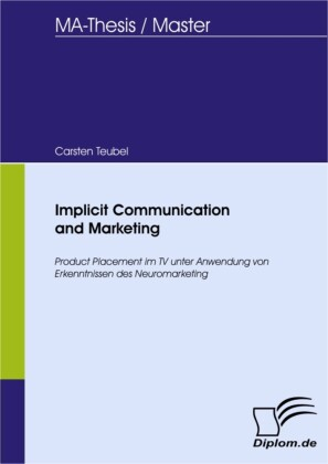 Implicit Communication and Marketing
