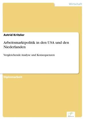 Arbeitsmarktpolitik in den USA und den Niederlanden