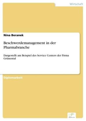 Beschwerdemanagement in der Pharmabranche