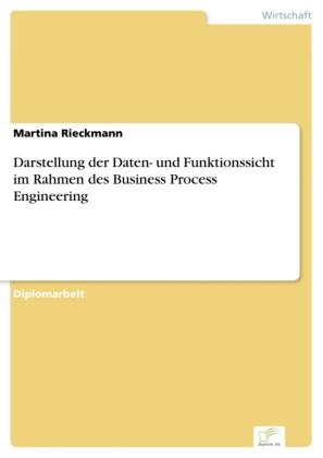 Darstellung der Daten- und Funktionssicht im Rahmen des Business Process Engineering