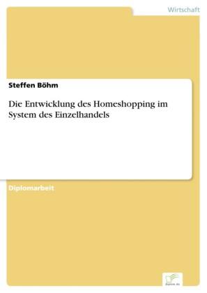 Die Entwicklung des Homeshopping im System des Einzelhandels