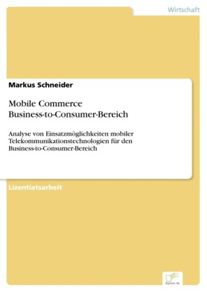 Mobile Commerce Business-to-Consumer-Bereich