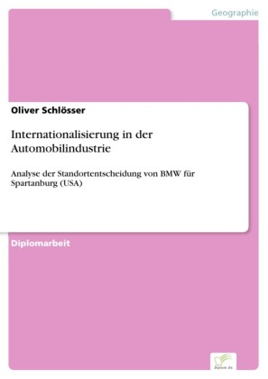Internationalisierung in der Automobilindustrie