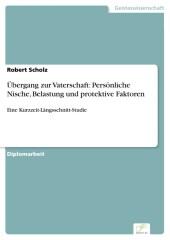 Übergang zur Vaterschaft: Persönliche Nische, Belastung und protektive Faktoren