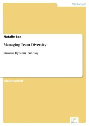Managing Team Diversity