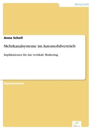 Mehrkanalsysteme im Automobilvertrieb
