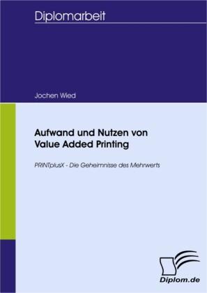 Aufwand und Nutzen von Value Added Printing