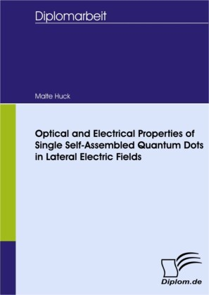 Optical and Electrical Properties of Single Self-Assembled Quantum Dots in Lateral Electric Fields