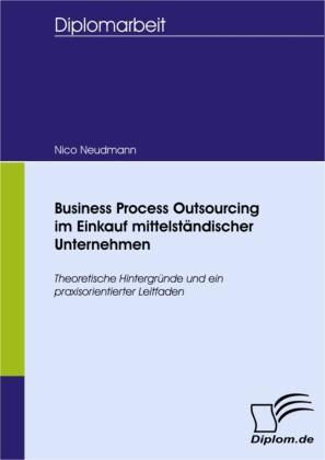 Business Process Outsourcing im Einkauf mittelständischer Unternehmen