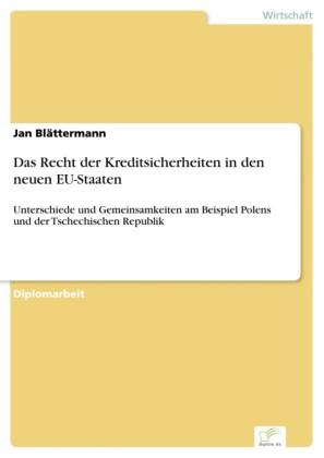 Das Recht der Kreditsicherheiten in den neuen EU-Staaten