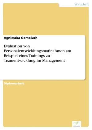 Evaluation von Personalentwicklungsmaßnahmen am Beispiel eines Trainings zu Teamentwicklung im Management