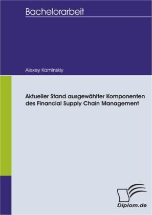 Aktueller Stand ausgewählter Komponenten des Financial Supply Chain Management