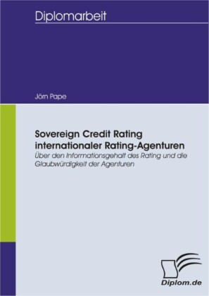Sovereign Credit Rating internationaler Rating-Agenturen