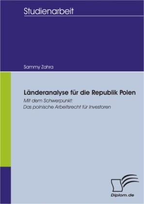 Länderanalyse für die Republik Polen