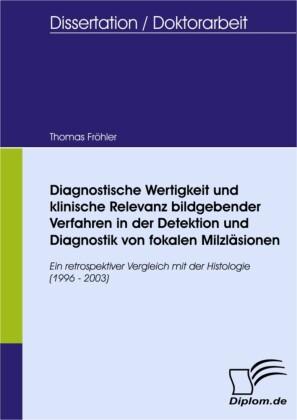 Diagnostische Wertigkeit und klinische Relevanz bildgebender Verfahren in der Detektion und Diagnostik von fokalen Milzläsionen