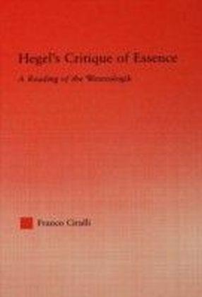 Hegel's Critique of Essence