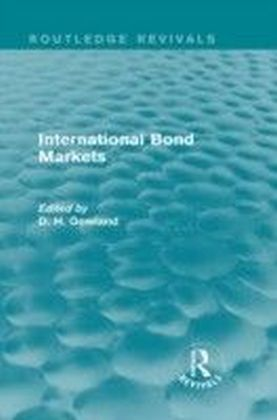 International Bond Markets (Routledge Revivals)