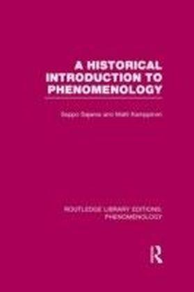 Historical Introduction to Phenomenology