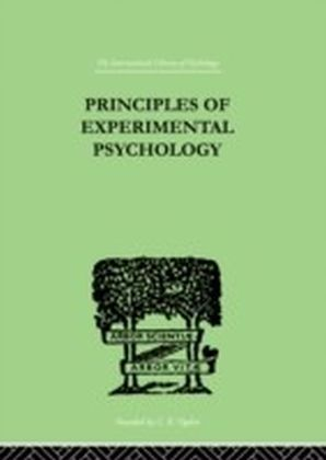 Principles Of Experimental Psychology