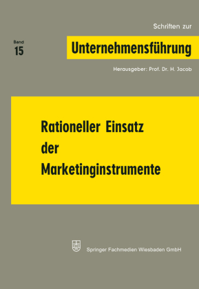 Rationeller Einsatz der Marketinginstrumente