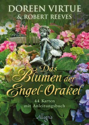 Das Blumen der Engel-Orakel, Anleitungsbuch u. Karten