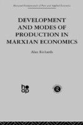Development and Modes of Production in Marxian Economics