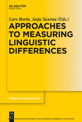 Approaches to Measuring Linguistic Differences