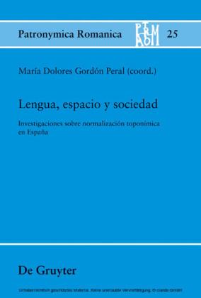 Lengua, espacio y sociedad