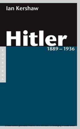 Hitler 1889 - 1936