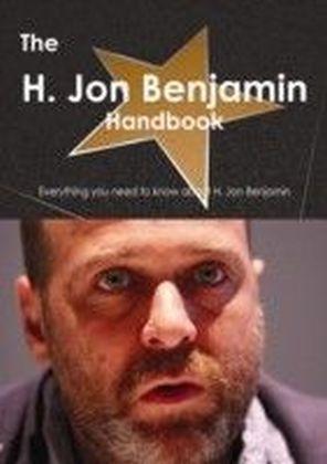 H. Jon Benjamin Handbook - Everything you need to know about H. Jon Benjamin