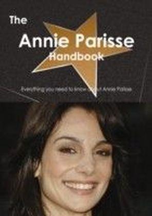 Annie Parisse Handbook - Everything you need to know about Annie Parisse