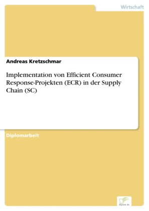 Implementation von Efficient Consumer Response-Projekten (ECR) in der Supply Chain (SC)