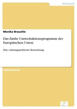 Das fünfte Umweltaktionsprogramm der Europäischen Union