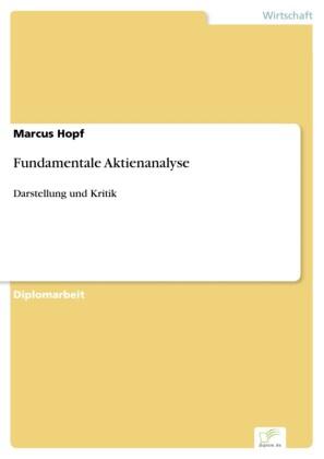 Fundamentale Aktienanalyse