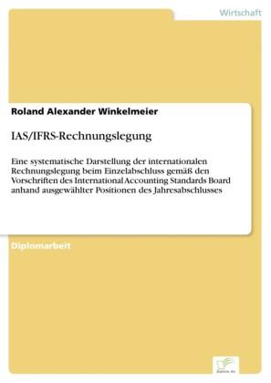 IAS/IFRS-Rechnungslegung