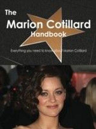 Marion Cotillard Handbook - Everything you need to know about Marion Cotillard