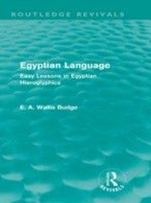 Egyptian Language (Routledge Revivals)