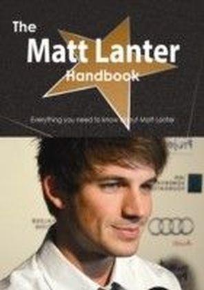 Matt Lanter Handbook - Everything you need to know about Matt Lanter