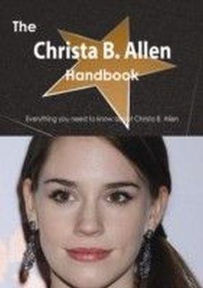 Christa B. Allen Handbook - Everything you need to know about Christa B. Allen
