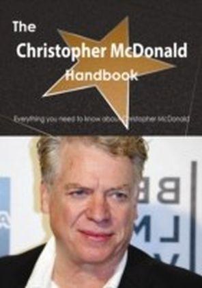 Christopher McDonald Handbook - Everything you need to know about Christopher McDonald