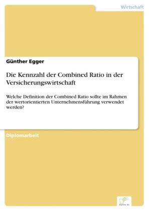 Die Kennzahl der Combined Ratio in der Versicherungswirtschaft