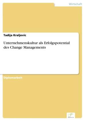 Unternehmenskultur als Erfolgspotential des Change Managements