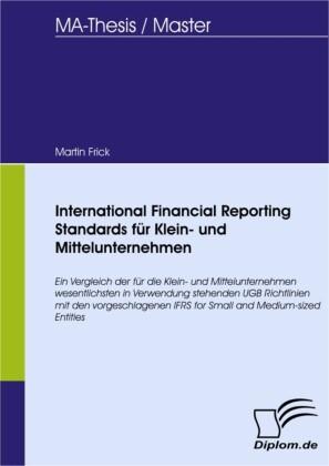 International Financial Reporting Standards für Klein- und Mittelunternehmen